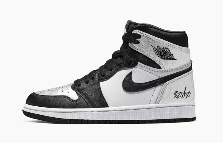 "Air Jordan 1 High OG WMNS ""Silver Toe""货号:CD0461-001"
