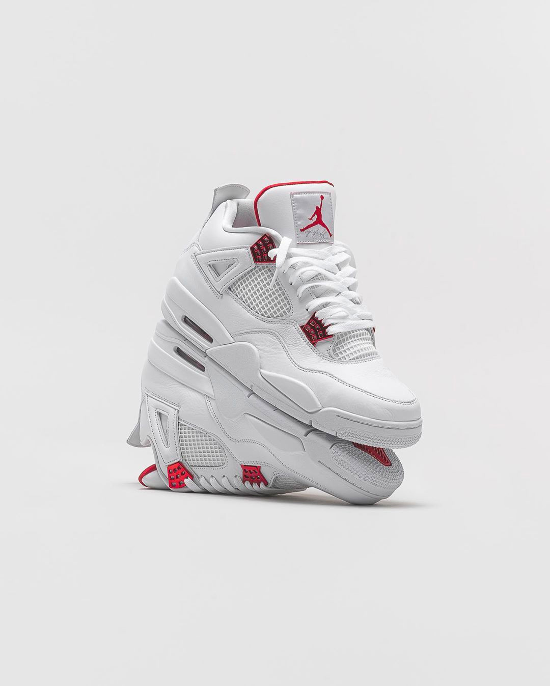 "Air Jordan 4 ""Metallic Red""货号:CT8527-112"