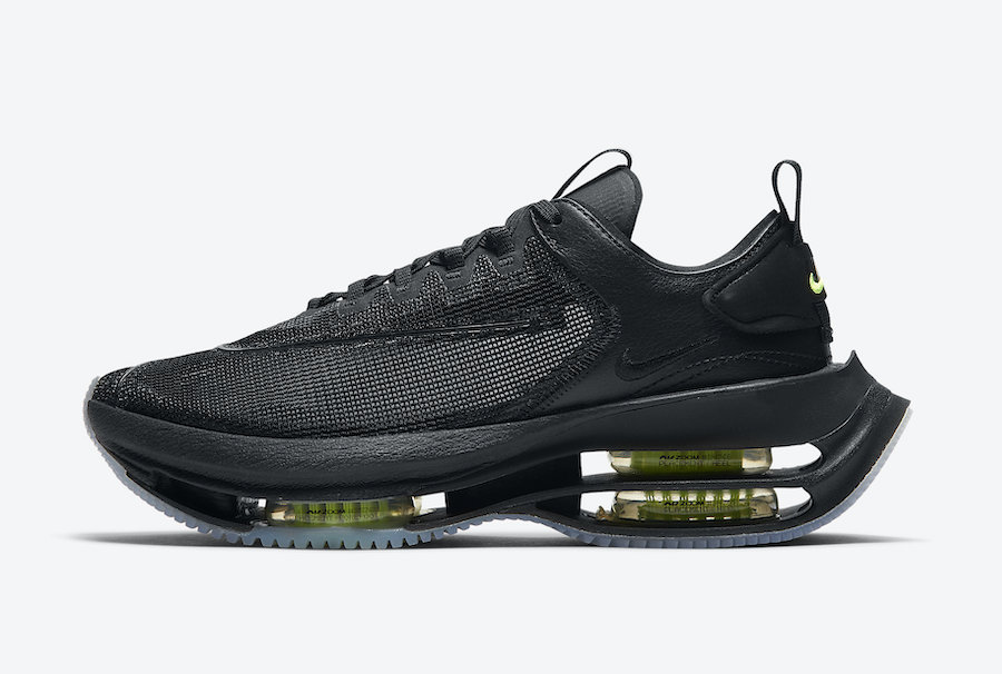 """Nike Zoom Double Stacked """"Black Volt"""" 货号:CI0804-001"""