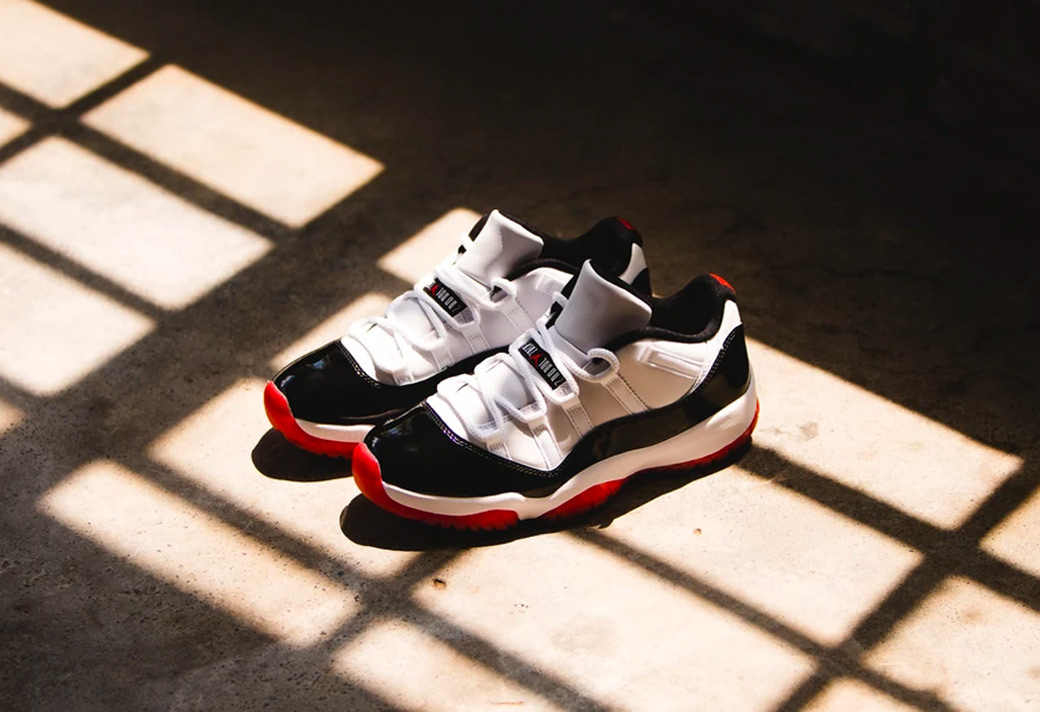 "Air Jordan 11 Low ""Gym Red"" 货号:AV2187-160"