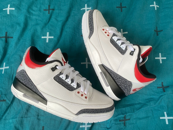"Air Jordan 3 SE DNM ""Fire Red""货号:CZ6431-100"