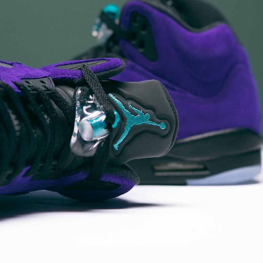 "Air Jordan 5 ""Alternate Grape""货号:136027-500"