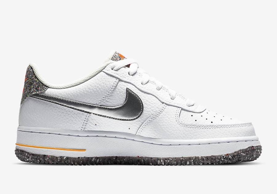 Nike Air Force 1 Crater GS 货号:DB1558-100