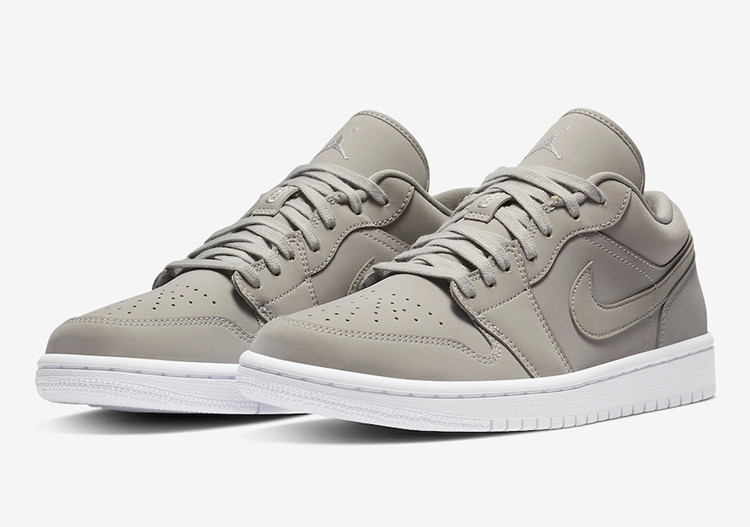 "Air Jordan 1 Low ""Grey Fog""货号:DC0774-002"