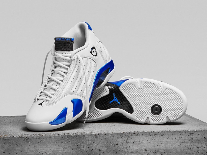 "Air Jordan 14 ""Hyper Royal""货号:487471-104"