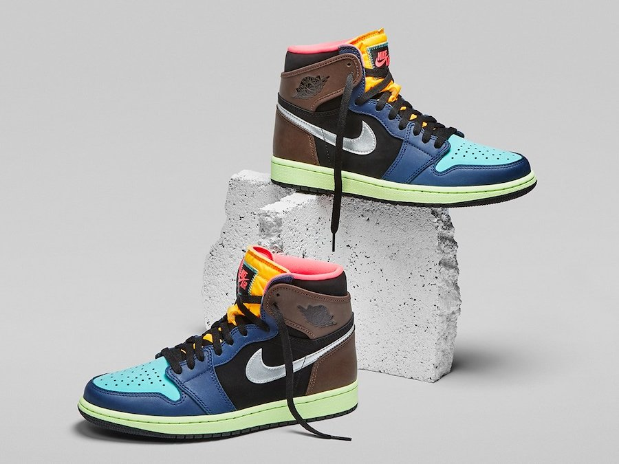 "Air Jordan 1 High OG ""Bio Hack""货号:555088-201"
