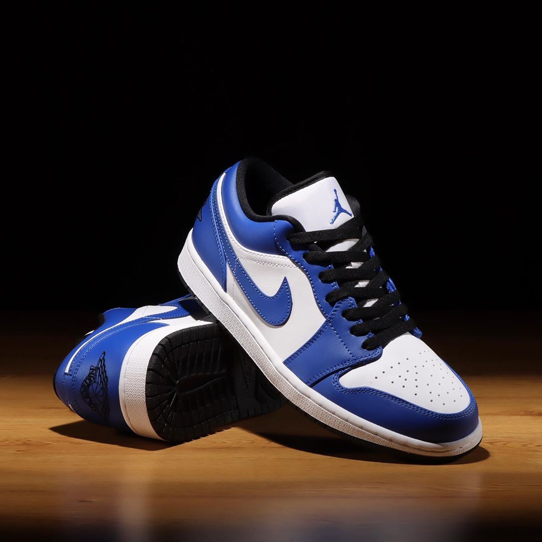 "Air Jordan 1 Low ""Game Royal""货号:553558-124"
