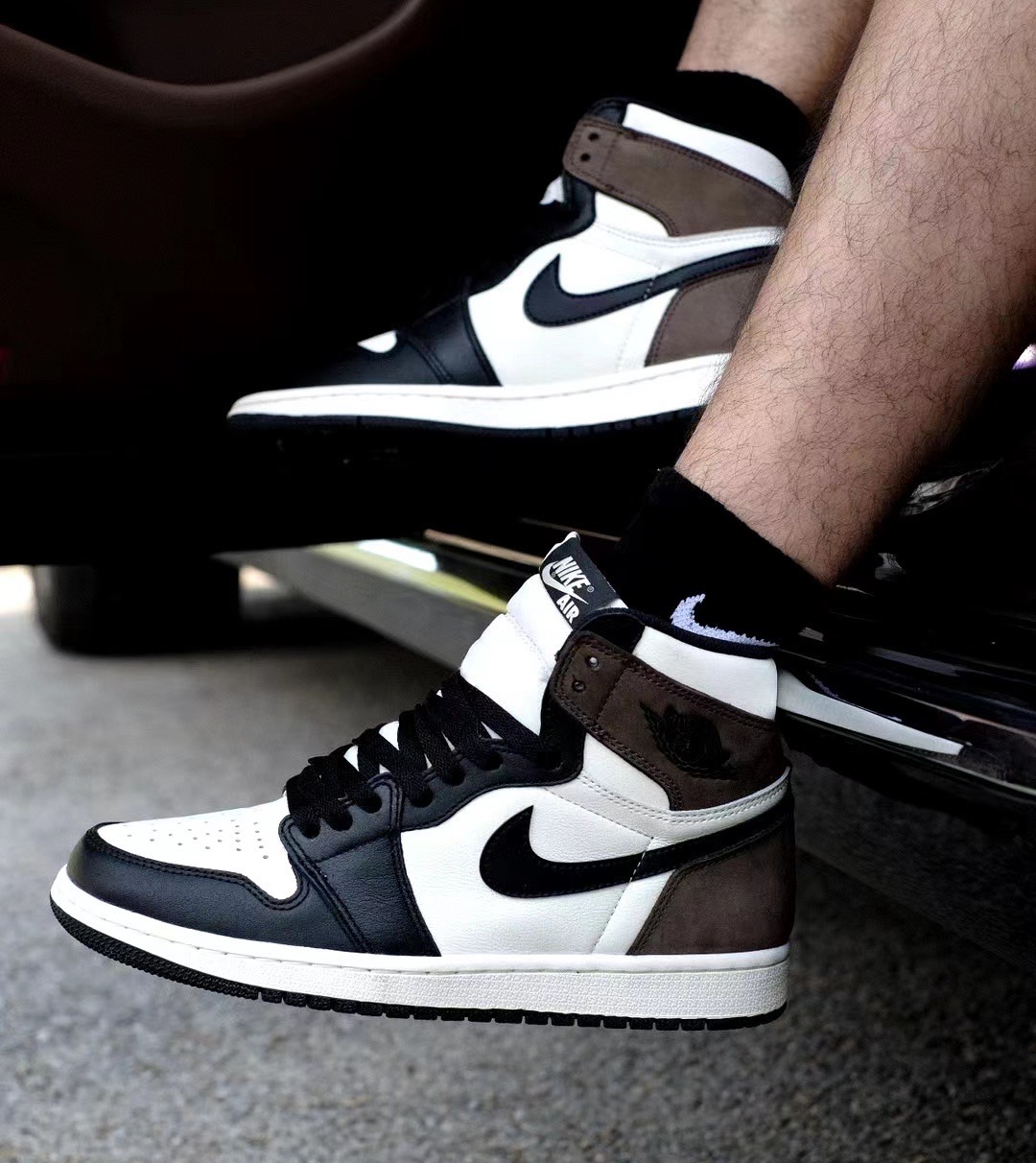 "Air Jordan 1 High OG ""Dark Mocha""货号:555088-105"