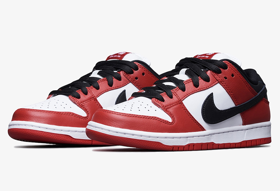 "Nike Dunk SB Low ""Chicago""货号:BQ6817-600"