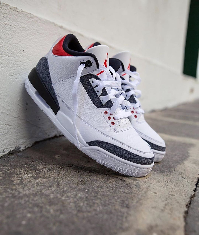 "Air Jordan 3 SE DNM"" Fire Red""货号:CZ6431-100"