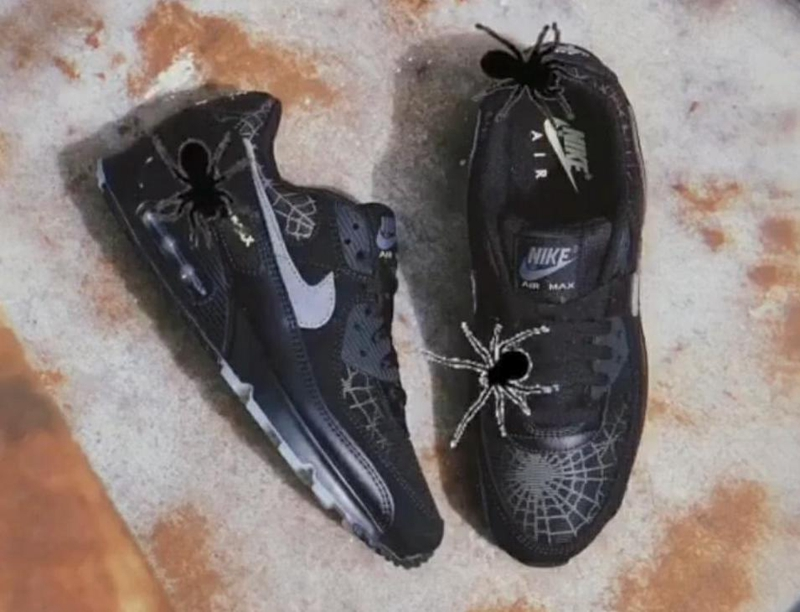 "Nike Air Max 90 ""Spider Web"" 货号:DC3892-001"