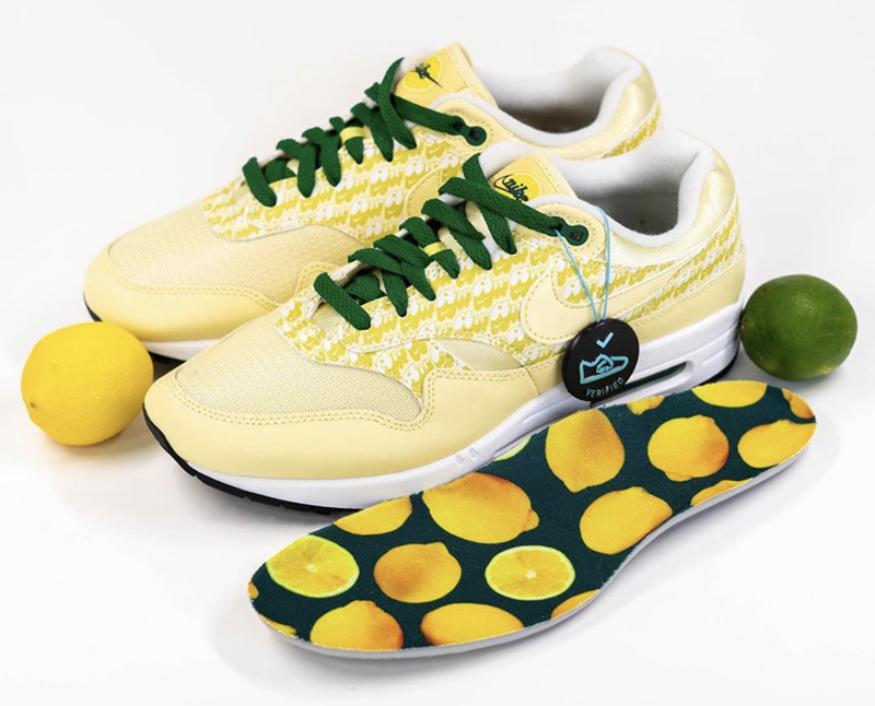 "Nike Air Max 1 ""Lemonade"" 货号:CJ0609-700"