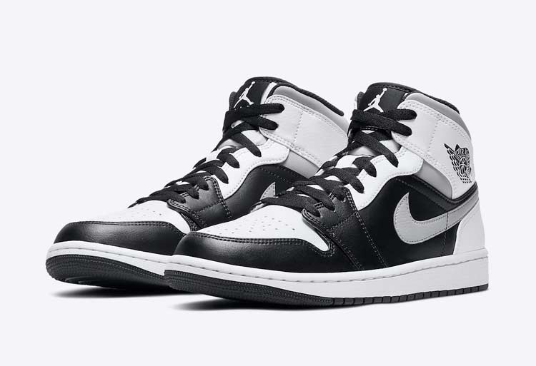 "Air Jordan 1 Mid ""White Shadow"" 货号:554724-073"