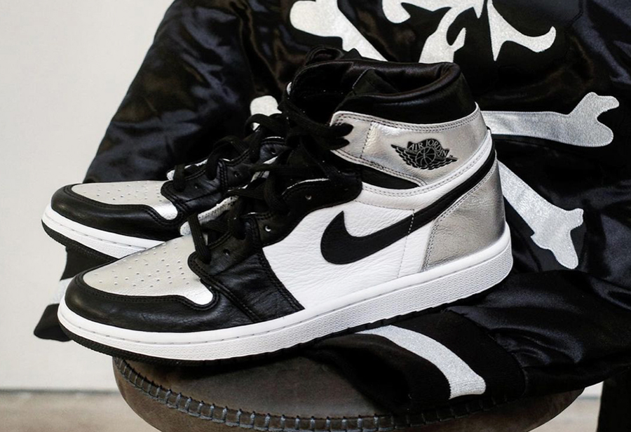 "Air Jordan 1 High OG WMNS ""Silver Toe"" 货号:CD0461-001"