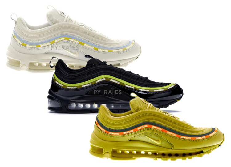 UNDEFEATED x Nike Air Max 97 货号:DC4830-300
