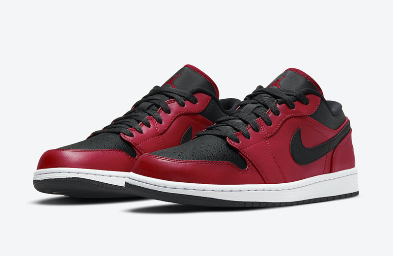 "Air Jordan 1 Low ""Gym Red"" 货号:553558-605"