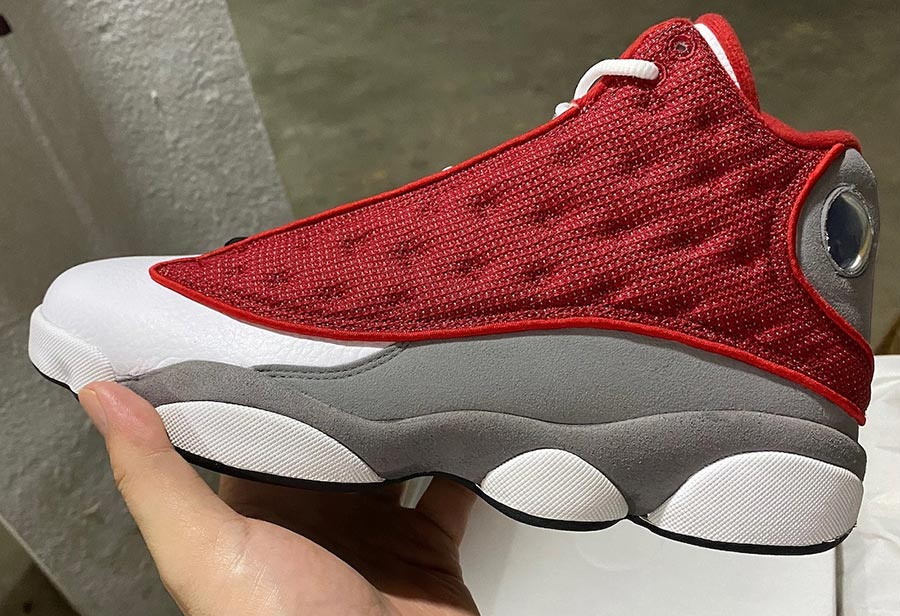 "Air Jordan 13 ""Red Flint""货号:414571-600"