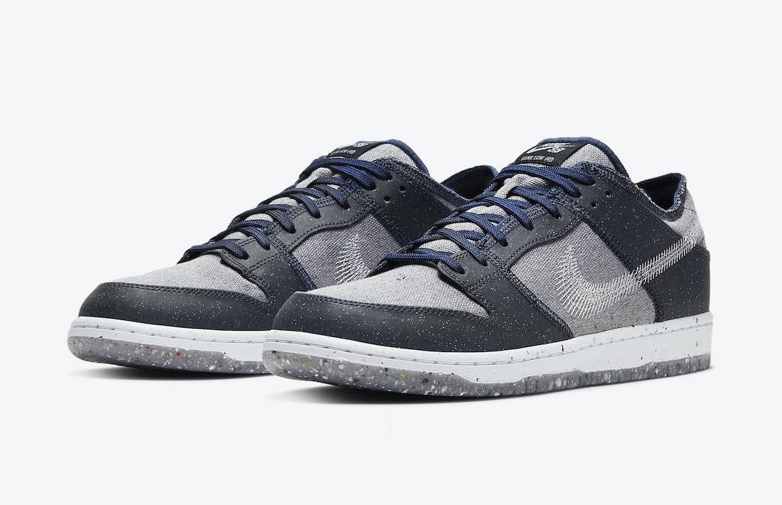 "Nike SB Dunk Low ""Crater"" 货号:CT2224-001"