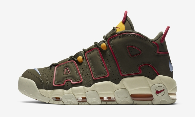 "Nike Air More Uptempo ""Cargo"" 货号:DH0622-300"