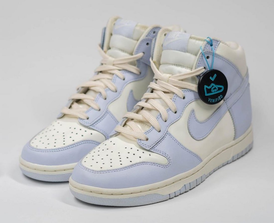 "Nike Dunk High WMNS ""Football Grey"" 货号:DD1869-102"