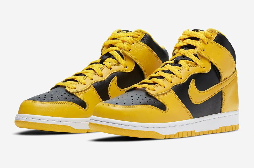"Nike Dunk High SP ""Varsity Maize"" 货号:CZ8149-002"