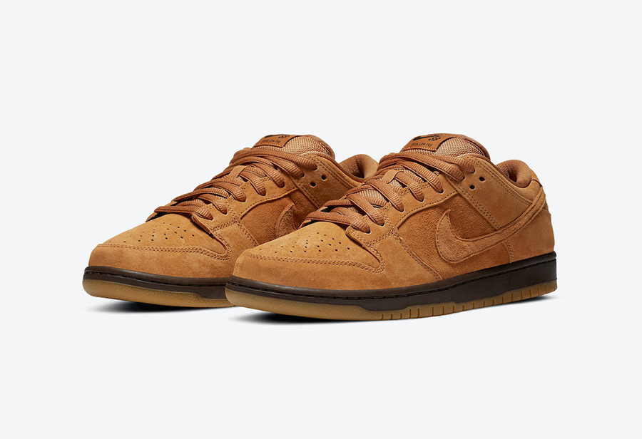 "Nike SB Dunk Low ""Wheat Mocha"" 货号:BQ6817-204"