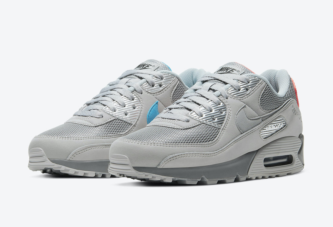 """Nike Air Max 90 """"Moscow""""货号:DC4466-001"""