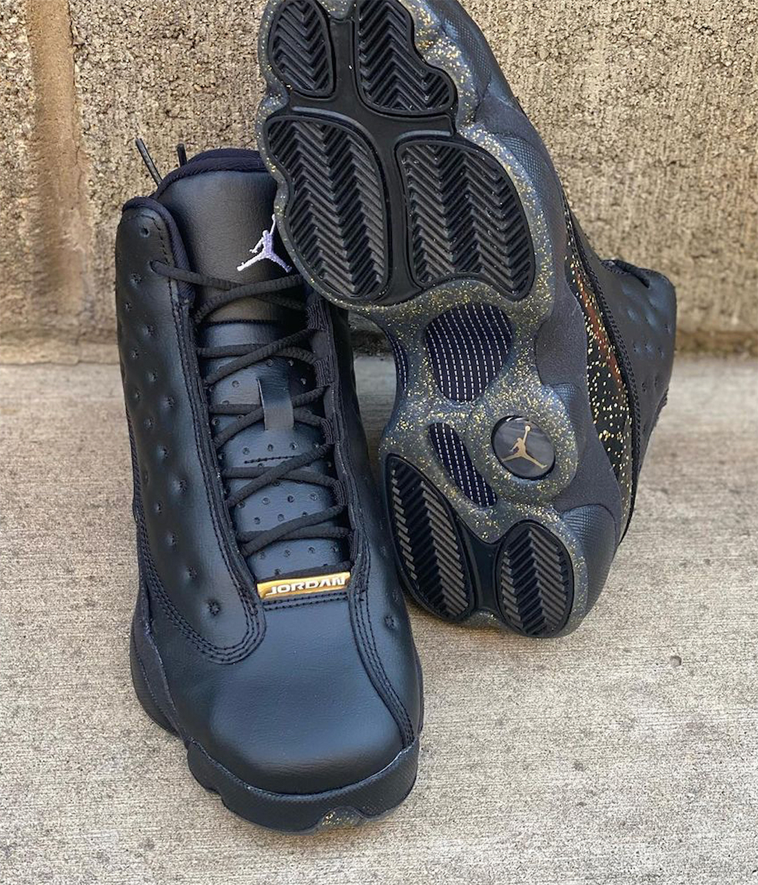 "Air Jordan 13 GS ""Black Gold""货号:DC9443-007"