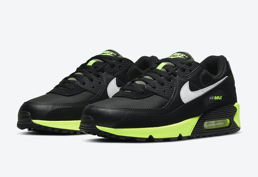 "Nike Air Max 90 ""Hot Lime"" 货号:DB3915-001"