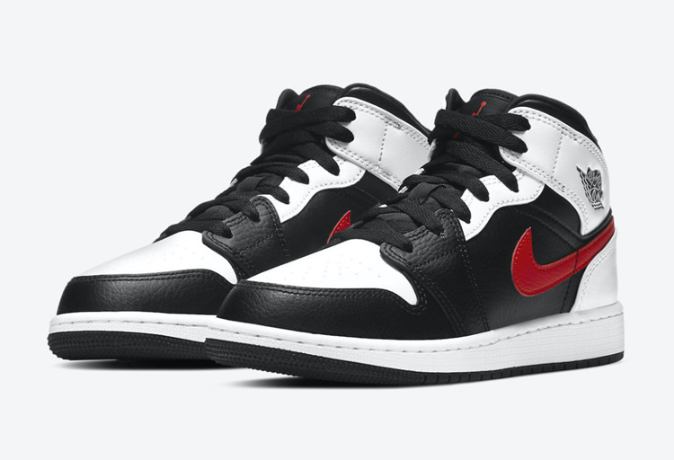 Air Jordan 1 Mid GS 货号:554725-075