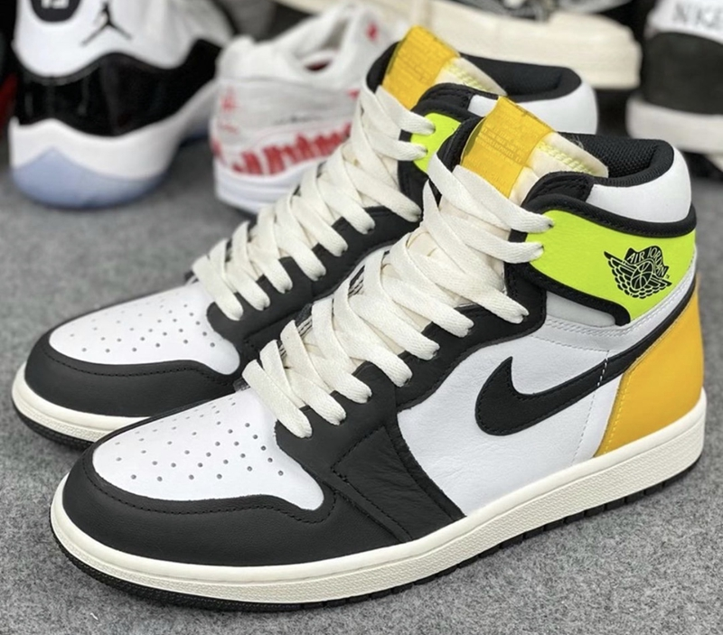 "Air Jordan 1 High OG ""Volt Gold 货号:555088-118"
