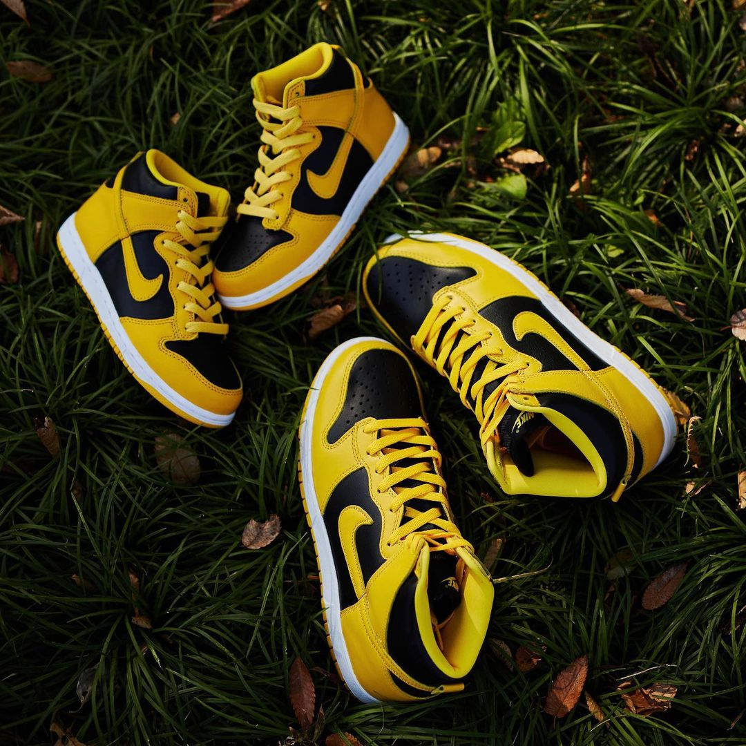 "Nike Dunk High SP ""Varsity Maize""货号:CZ8149-002"
