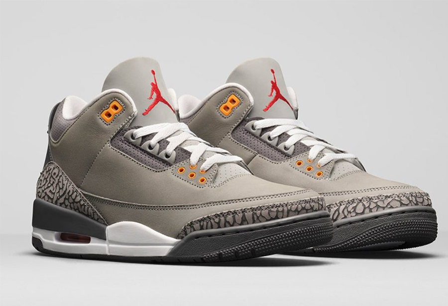 "Air Jordan 3 ""Cool Grey""货号:CT8532-012"