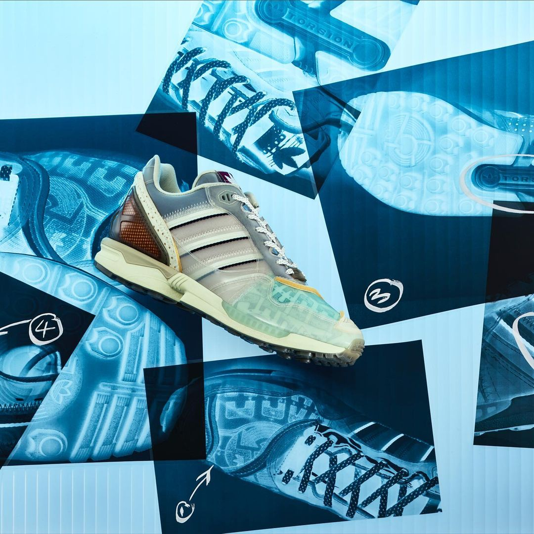 "adidas ZX 6000 ""X-Ray Inside Out"" 货号:G55409"