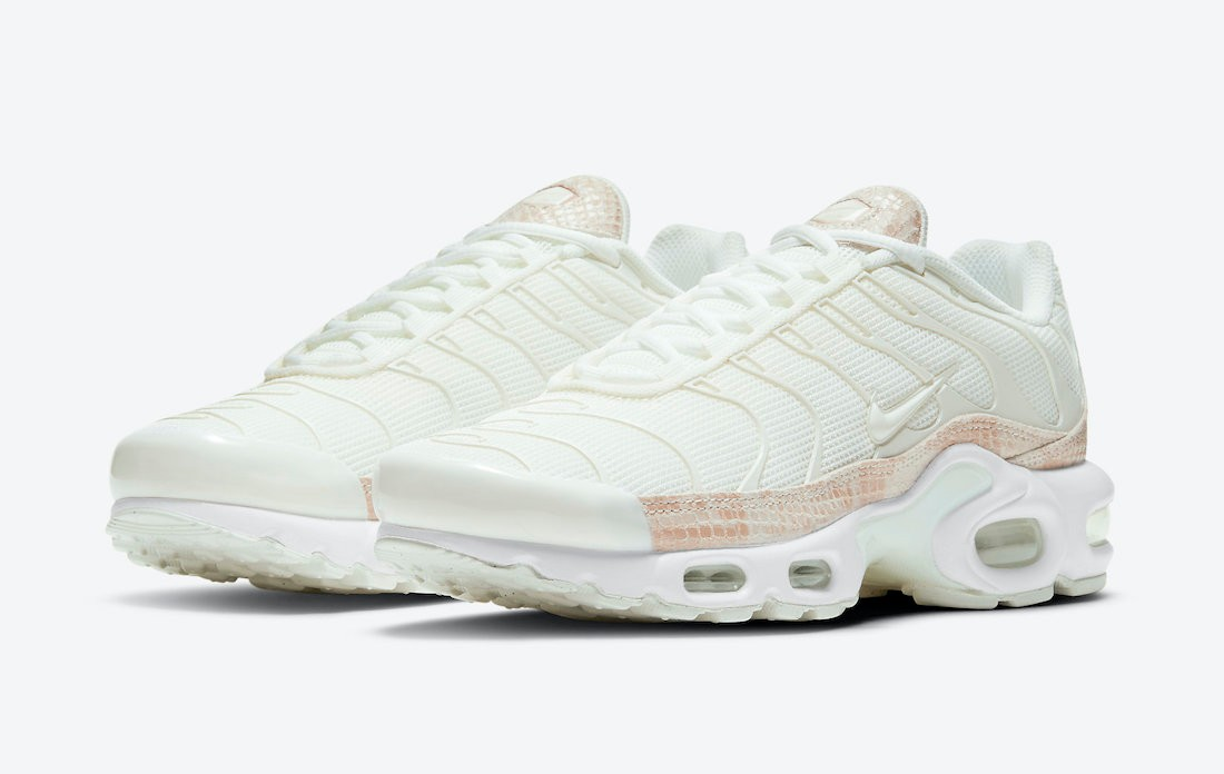 "Nike Air Max Plus ""Pink Snakeskin""货号:DJ4601-100"
