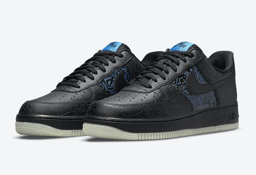 """Space Jam x Nike Air Force 1 Low """"Computer Chip"""" 货号:DH5354-001"""